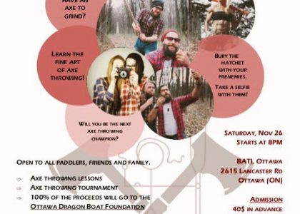 Don't be an axe-hole get your tickets to this axe-mazing charity event!