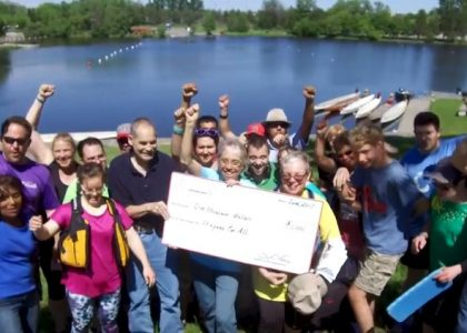 OTTAWA DRAGON BOAT DONATES $1000 TO DRAGONS FOR ALL