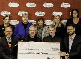 JUST ANNOUNCED! FOUNDATION DONATES $225,000 TO FIVE LOCAL CHARITIES