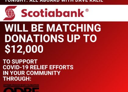 Scotiabank to Match Donations During A Dave Kalil Song