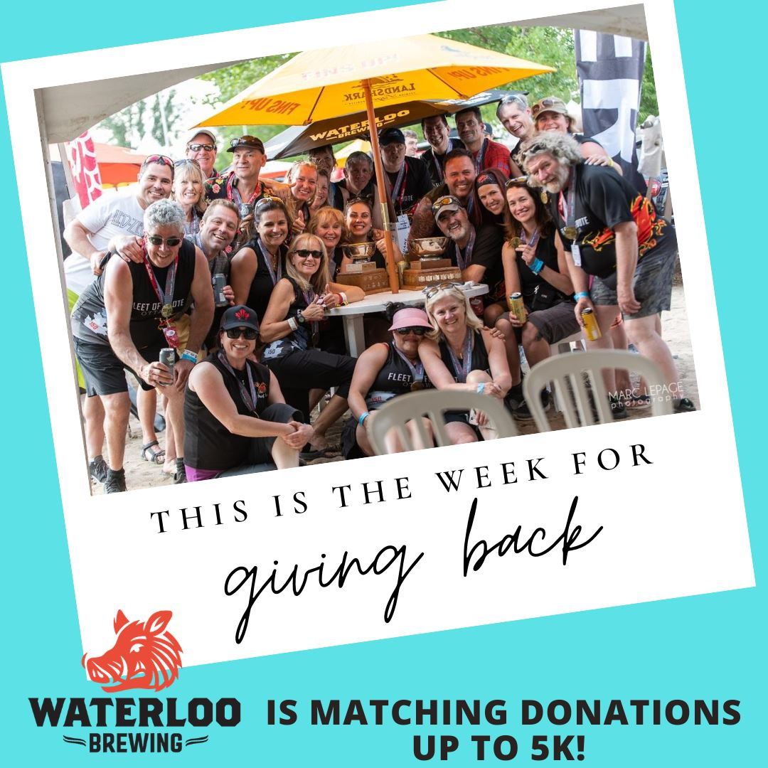 ODBF, WATERLOO BREWING AND LIVE 88.5 JOIN FORCES TO HELP LOCAL CHARITIES!