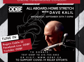 ALL ABOARD: HOME STRETCH WITH DAVE KALIL