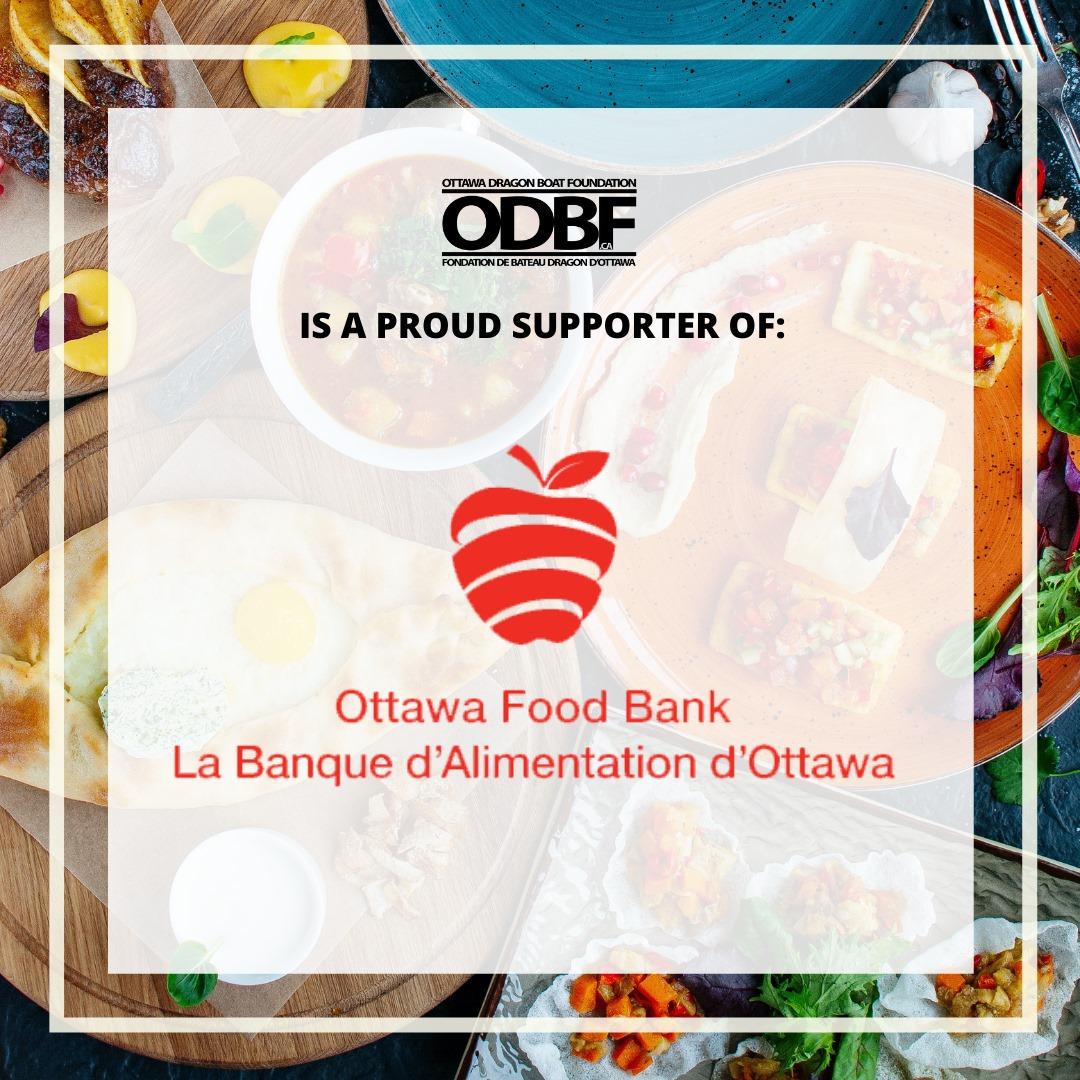ODBF PRESENTS OTTAWA FOOD BANK WITH A $5,000 DONATION