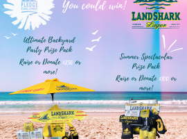 YOU COULD WIN WITH LANDSHARK LAGER AND THE ODBF PLEDGE CHALLENGE!